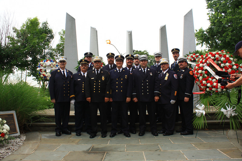 Hackensack Fire Memorial Services 7-1-13