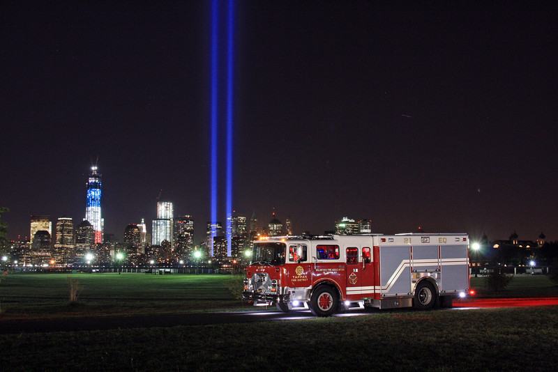 September 11, 2012 Tribute of light & Apparatus